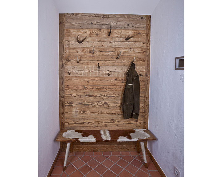 Garderobe aus Altholz